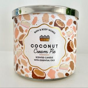 NEW BBW Coconut Cream Pie Candle